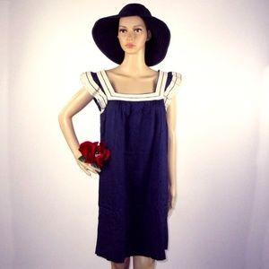 Marc by Marc Jacobs Navy Blue Dress Size M Cotton